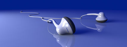 Earbuds Royalty Free Stock Photo