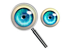Earch and searching symbol Royalty Free Stock Photography