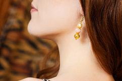 Earings Royalty Free Stock Photos