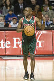 Earl Boykins of the Milwaukee Bucks Royalty Free Stock Photos