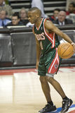 Earl Boykins of the Milwaukee Bucks Royalty Free Stock Image