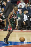 Earl Boykins of the Milwaukee Bucks Stock Photos