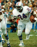Earl Campbell Houston Oilers Lizenzfreies Stockbild