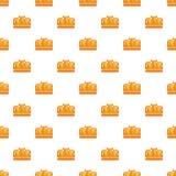 Earl crown pattern seamless Stock Photos