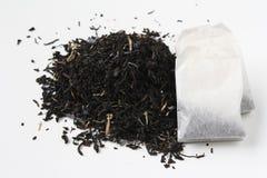 Earl grey tea and tea bag Royalty Free Stock Photos