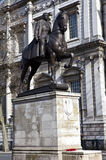 Earl Haig Memorial Statue in London Royalty Free Stock Photos