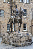 Earl Haig monument in Edinburgh Castle Royalty Free Stock Images