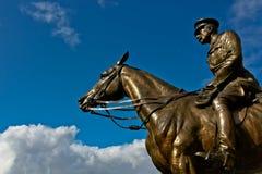 Earl Haig Statue Royalty Free Stock Image