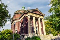 Earl Hall - un de bâtiments d'Université de Columbia photo libre de droits