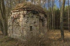 Earl-Kapelle nahe Straci-Dorf in der Winterzeit Stockfoto