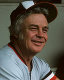 Earl Weaver, Baltimore Orioles. Baltimore Orioles Hall of Fame manager Earl Weaver Royalty Free Stock Photos