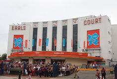 Earls Court, Londres Imagenes de archivo