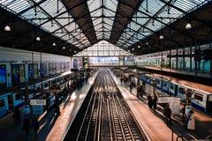 Earls Court underjordisk station Royaltyfria Foton