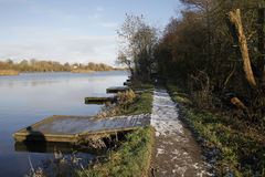 Earlswood lakes Royalty Free Stock Image