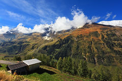 Early autumn in the Austrian Alps Royalty Free Stock Image