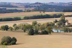 Early Autumn in Gascony Royalty Free Stock Image