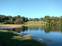 Early Autumn by the Lake Royalty Free Stock Photos