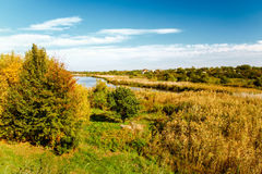 Early autumn landscape Royalty Free Stock Photo
