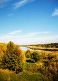 Early autumn landscape Stock Photo