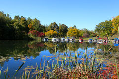 Early autumn in Michigan Royalty Free Stock Photos
