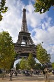 Early autumn in Paris Stock Images