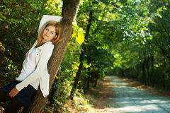 Early autumn portrait Royalty Free Stock Image