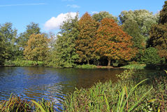 Early Autumn on the River Thames in Berkshire, England Royalty Free Stock Photo