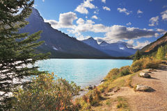The early autumn in the Rocky Mountains Stock Photography