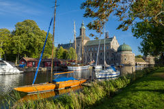 Early autumn in Vadstena Royalty Free Stock Photography
