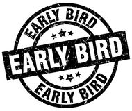 Early bird stamp Stock Images