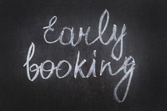 Early booking Royalty Free Stock Images