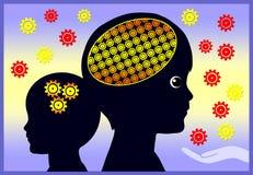 Early Brain Development Stock Photography