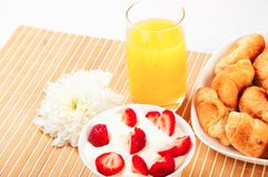 Early breakfast Royalty Free Stock Images