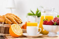 Early breakfast Royalty Free Stock Photography