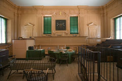 Early courthouse of Independence Hall in Philadelphia, Pennsylvania Stock Image