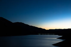 Early Dawn Breaking in the Heart of Hells Canyon Royalty Free Stock Image