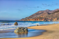 Early Dusk at Garrapata State Park Royalty Free Stock Photo