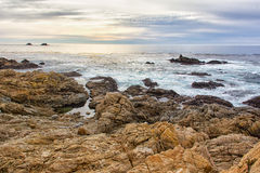 Early Dusk at Garrapata State Park Royalty Free Stock Photos