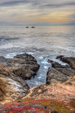 Early Dusk at Garrapata State Park Stock Photos