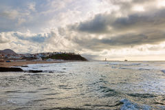 Early evening on the coast in Sidi Ifni Stock Photos