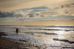 Early evening on the coast in Sidi Ifni Stock Images