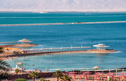 Early evening at the Dead Sea. Royalty Free Stock Photography