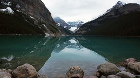 Early Evening at Lake Louise Royalty Free Stock Photo