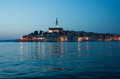 Early evening view of Rovinj, Croatia Stock Images