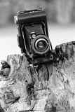 Early example of old Kodak Anastigmatic camera, mass-produced and popular, taken 2014 Stock Photos