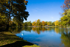 Early Fall Day At Park Royalty Free Stock Image