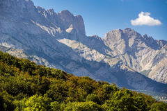 Early Fall in Faraut mountain peaks, Champsaur, Southern Alps, France Stock Photos