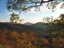 Early Fall Morning, Shenandoah Stock Images