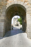 Early Gothic Cathedral in Avila Spain, an old Castilian Spanish village Stock Photography