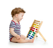 Early learning baby Royalty Free Stock Photo